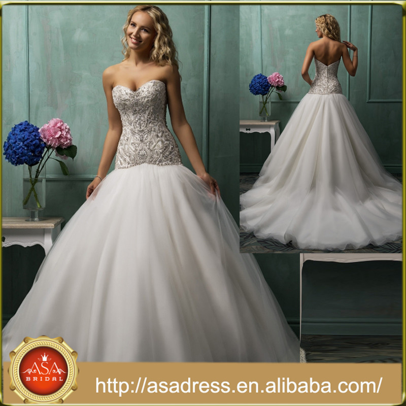 Fully Beaded Wedding Gowns, Fully Beaded Wedding Gowns Suppliers and ...