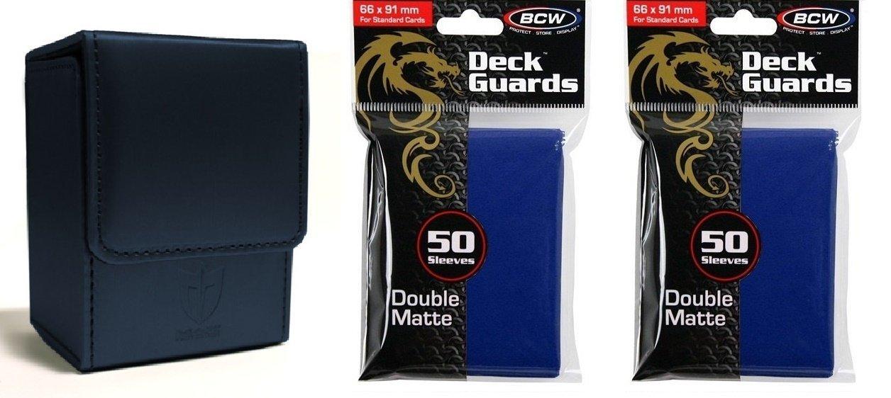 Kolekcjonerskie gry karciane 100 Double Matte Deck Guard Card Sleeves BCW Green