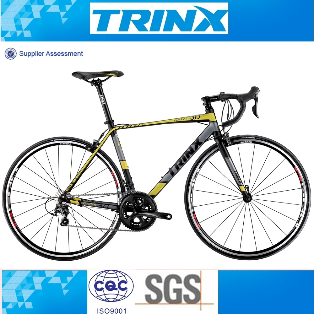 CHINA TRINX 2016 SUPER LIGHT SMOOTH WELDING ALLOY ROAD BIKE FOR SALE