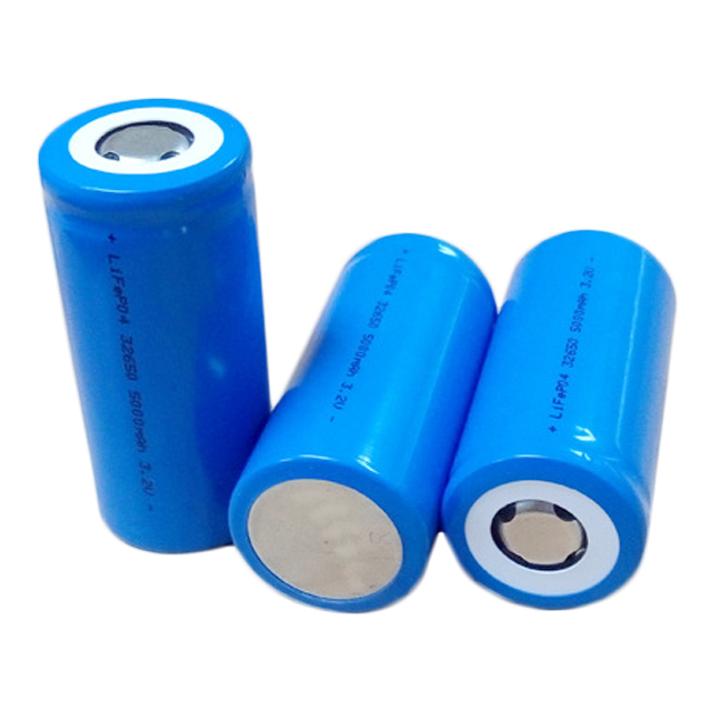 High quality rechargeable 32650 3.2v 5000mah LiFePo4 Single Cell