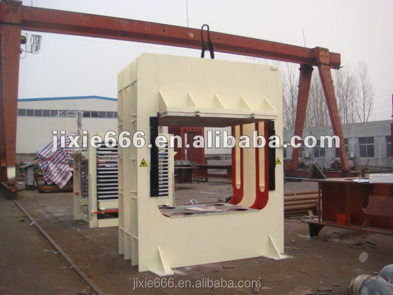 Hydraulic hot press for door/High quality plywood machine/Best sell woodwoking machine