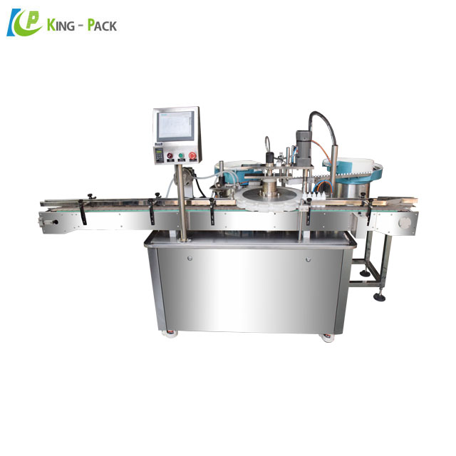 Automatic packaging machine for coffee, coffee powder filling and capping machine