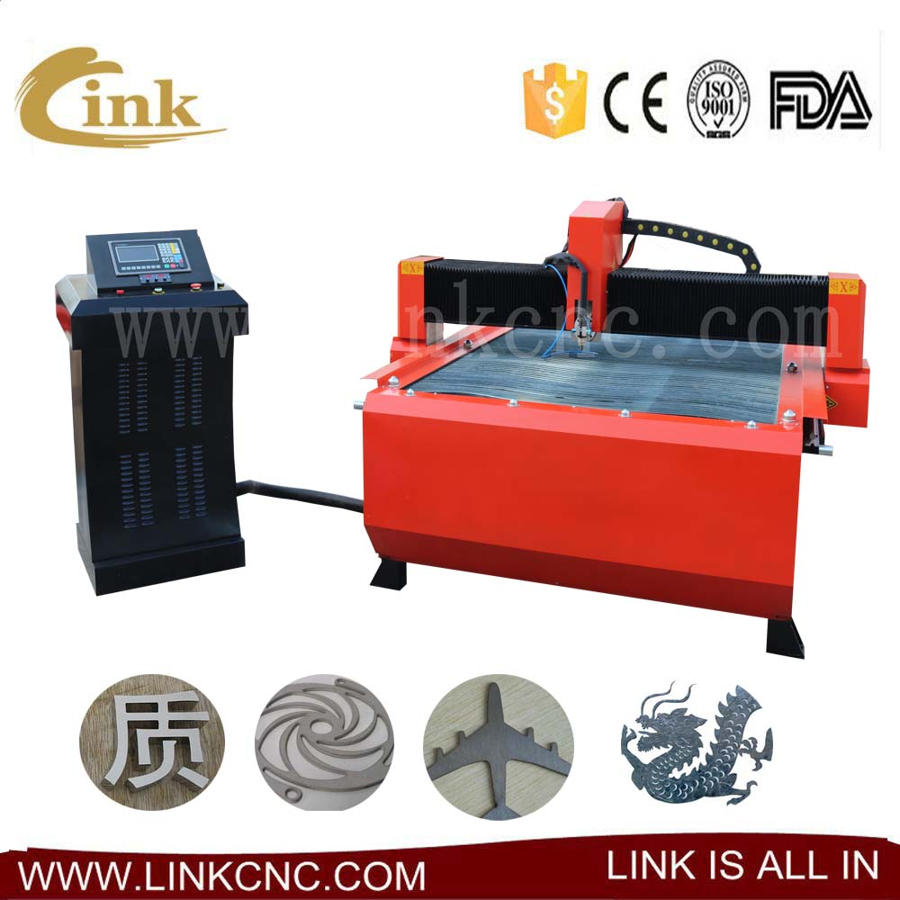 Great performance cnc plasma tube cutting machine/CNC plasma cutter 1325 1530 with huayuan supplier/haibao supplier 100A
