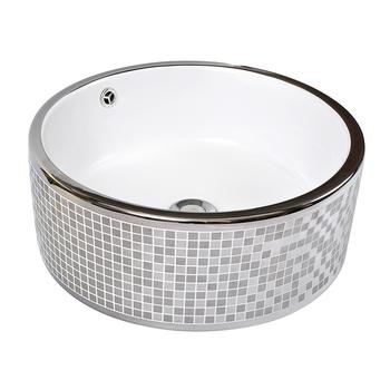 European Bathroom Sinks Dining Room Plating Electroplated Hand Wash Basin