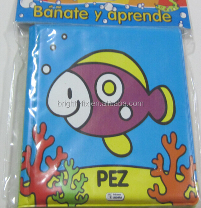 Seaworld Fish Banate Y Aprende Cartoon Printed Eva Plastic Children ...