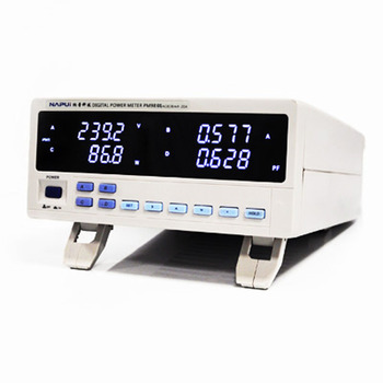 NAPUI PM9804 Single Phase Trms AC/DC Digital Power Meter Test For LED Electric Machine