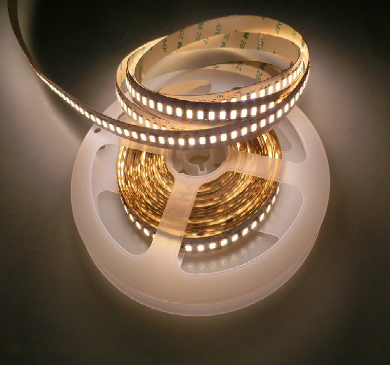 High Quality 5M LED  Light 2835 SMD 10mm Flexible LED Strip 24v