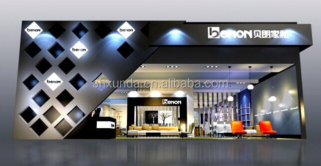 Modern Exhibition Stand Lighting : Clearance price modern style trade show stand wood aluminum
