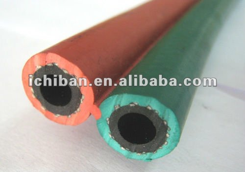 Elastic High Pressure Two Layer 9mm Rubber Acetylene Oxygen Welding Hose