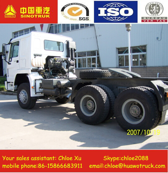 china military used 10 tires 6x6 Tractor Truck For Sale