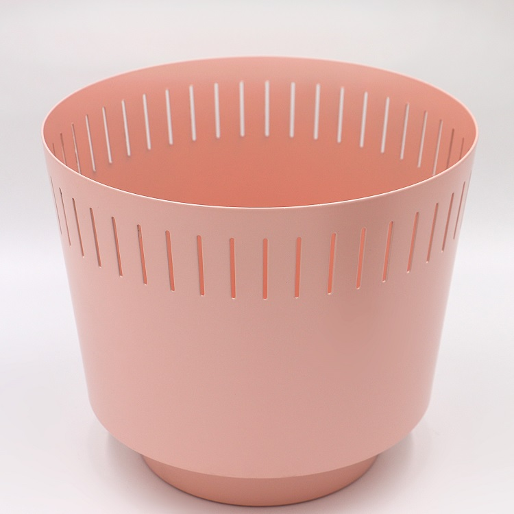 Metalen bloem planter pot en vaas