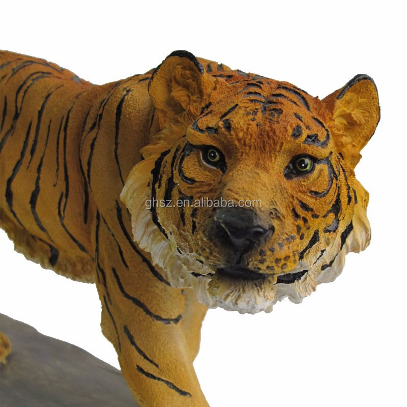 Personalizzare polyresin mighty tiger statue