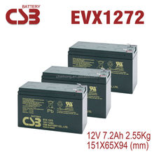 For Ups Systems CSB Rechargeable EVX1272 Car Battery