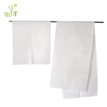 Free Lint Scrim Reinforced Disposable Paper Bath Towel