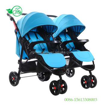 2017 New Arrival Baby City Mini Double Twins Stroller Born Prams Babe