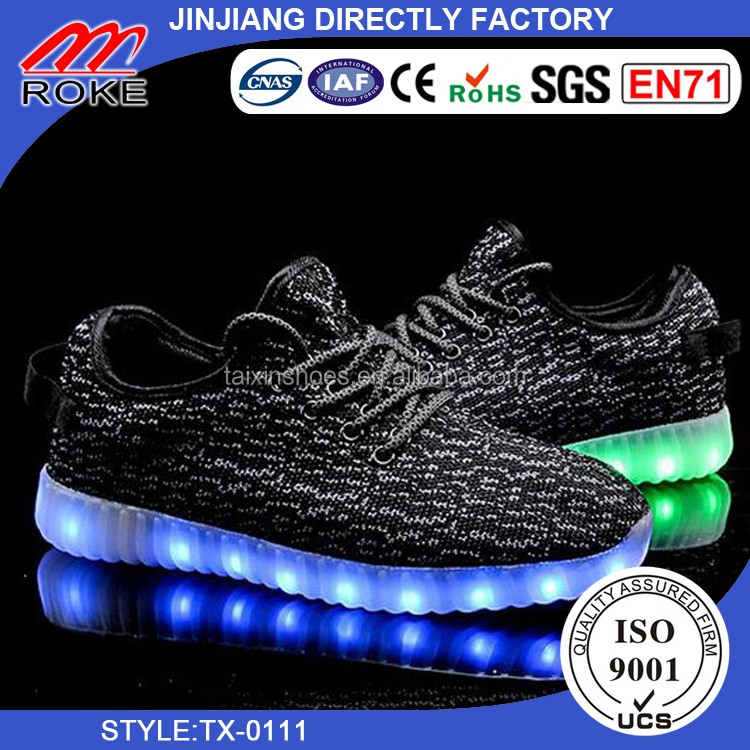 led Shoes For Men Fashion Light Up Casual Shoes For Adults 7 Colors Outdoor Glowing Women/men Plus Size25-46 zapatos hot