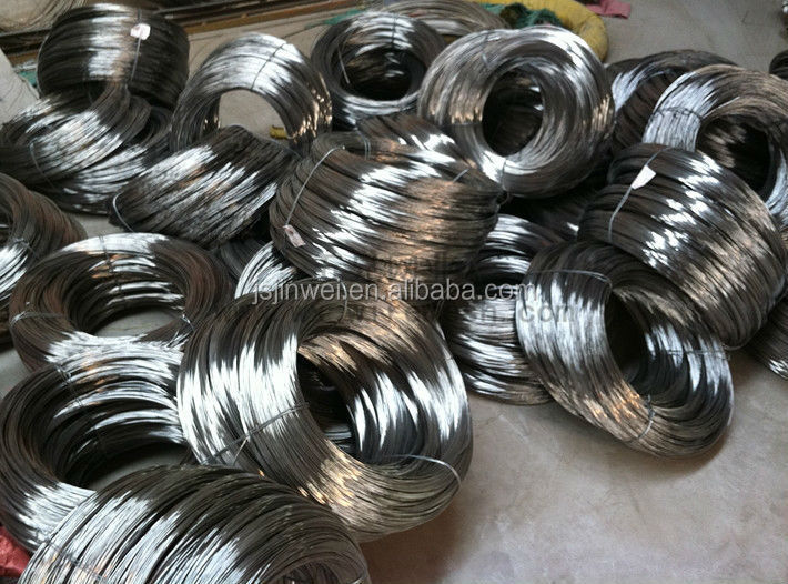 201/202/301/303/304/304L/316/316L/410/416/420/430/2520 Stainless Steel Hydrogen Annealed Wire Dia from 0.1mm-10mm