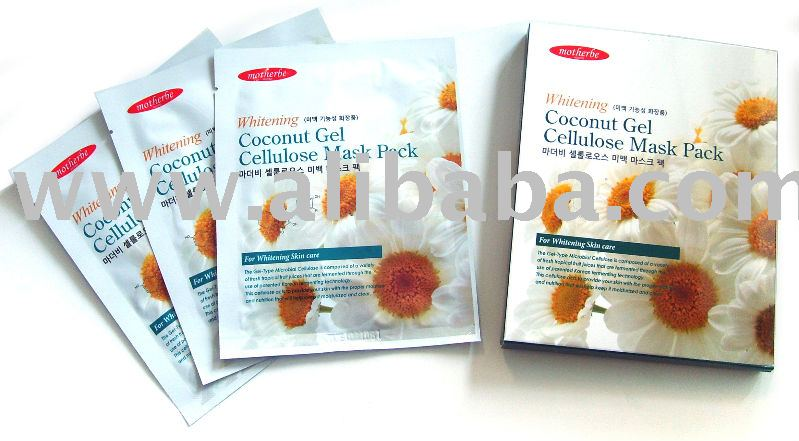 Feelre Coconut Gel Cellulose Mask Pack Whitening