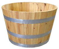 Wood Half Barrel Planter for wine,gardon