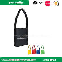 recycle non woven custom shopping promotion tote shoulder bag