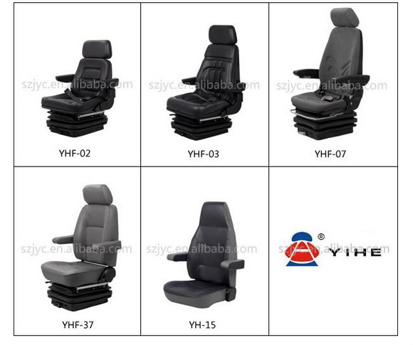 air suspension damper truck seat yhf 07 buy air. Black Bedroom Furniture Sets. Home Design Ideas