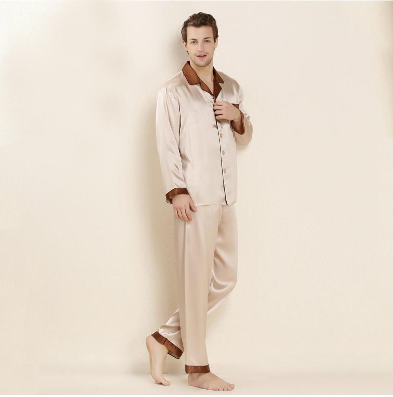 54f235f40c1a8d6 100% Шелк Мужская Ночная Рубашка - Buy 100% Шелковая Мужская Ночная ...