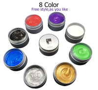 Private Label Available Fashion Hair Wax Styling Temporary Hair Color Wax