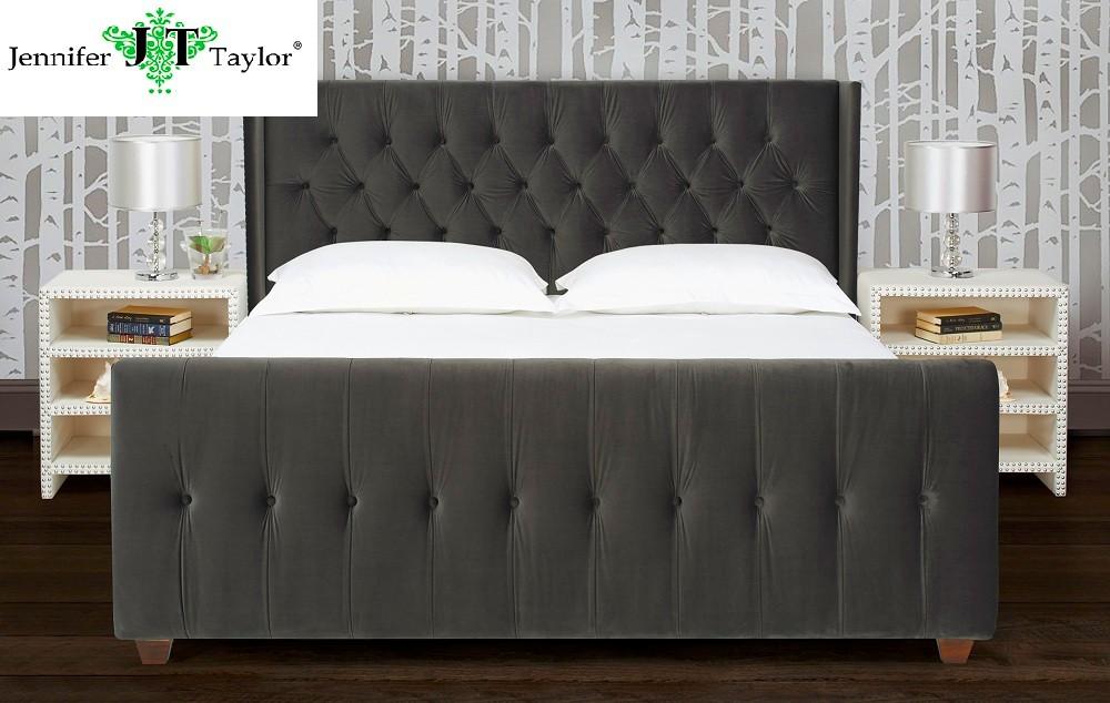 Muebles De Diseño Moderno Dormitorio Tela Diseño Muebles Cabecera ...