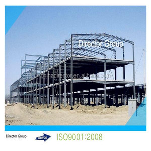 ISO & CE certification prefab light steel structure curved roof design structural steel shed