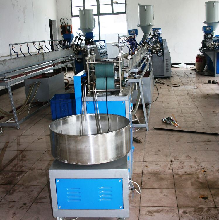 high speed plastic rattan machine/rattan production line