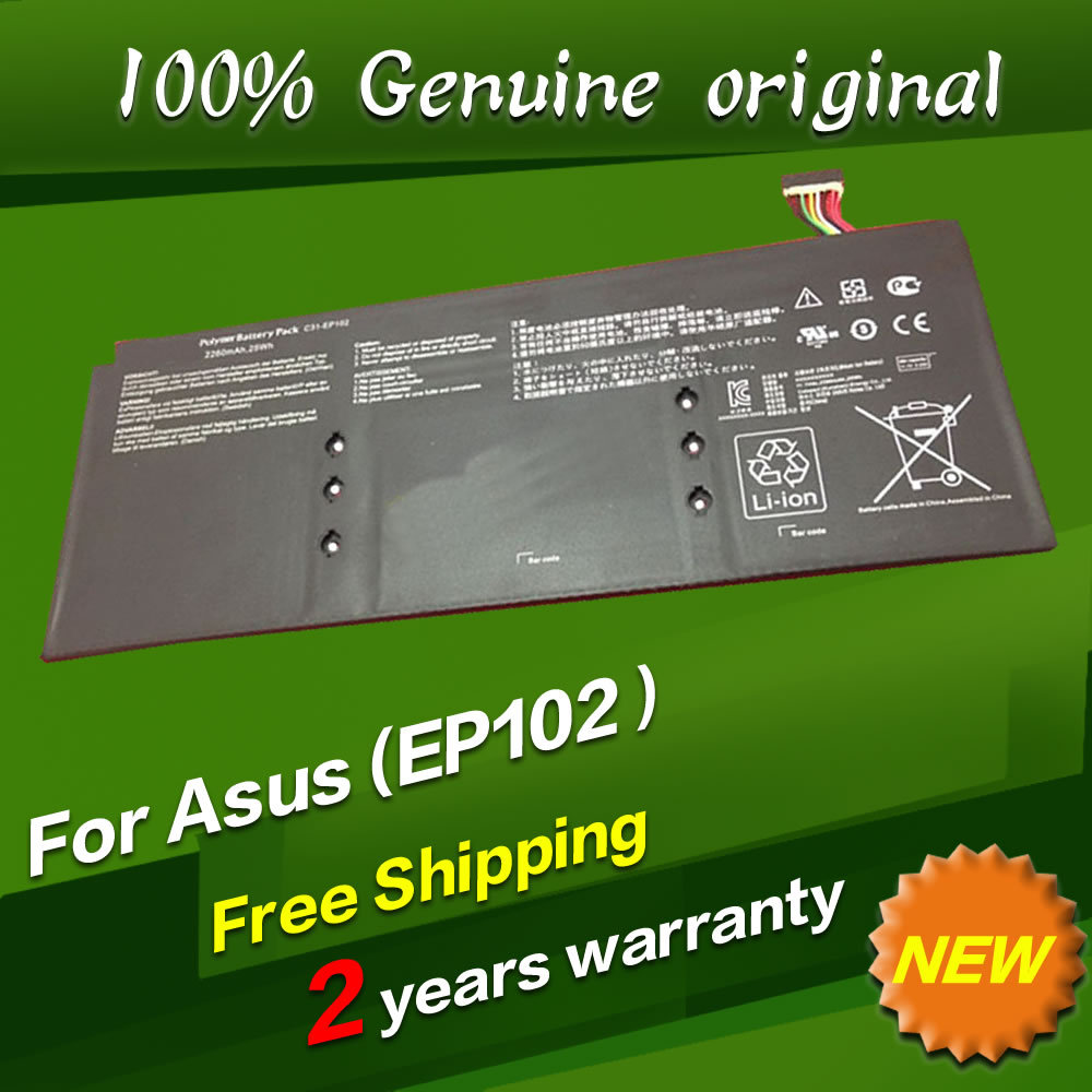 Free shipping C31 EP102 Original laptop Battery For Asus Eee Pad Slider EP102 Series 11 1V