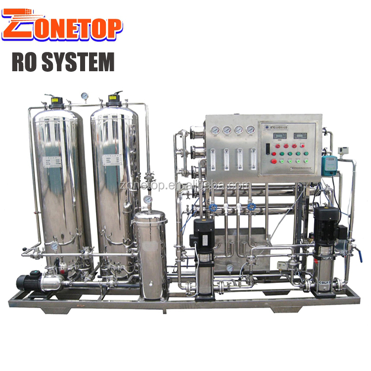 Calcite Water Treatment/Reverse Osmosis System 30T/Ro Pure Water Ozone Plant