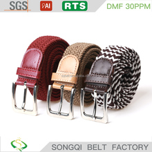 Hot sale fashion elastic belt man stretch belt
