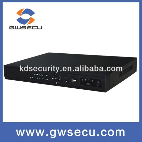 New coming H.264 Onvif 4/8/16/32 Channel 1U NVR Support 2 SATA HDD / 16ch h.264 network digital video recorder