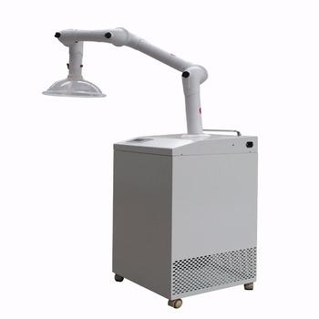 99.999% Filtering Efficiency Mobile Fume Extractor For Welding Kitchen  Exhaust Fume Hood Factory Price