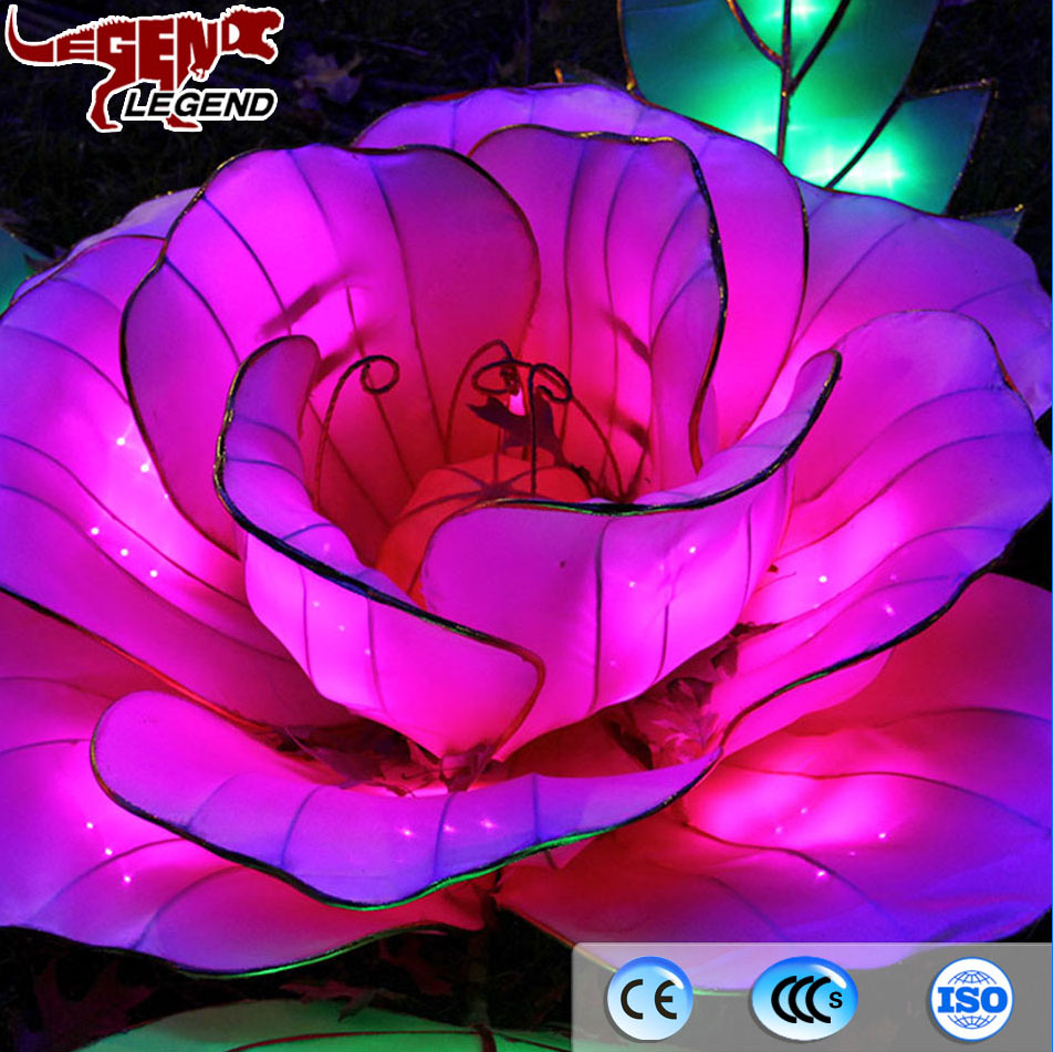 China Paper Flower Lantern China Paper Flower Lantern Manufacturers