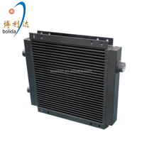 oil to air bar and plate fin hydraulic cooler for marine/construction machinery/ hydraulic system
