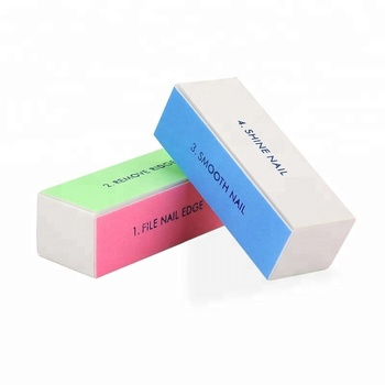 Whole Nail Supplies Disposable 4 Sided Buffer Block Custom