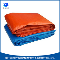 Plastic bed cover sheet PE tarpaulin high tensible strong triangle plastic rope outdoor truck/boat/equipment cover manufacture