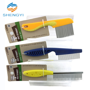 High quality pet hair removal slicker brush grooming comb