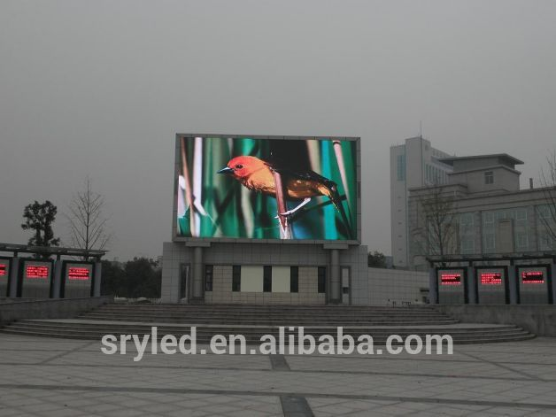 SRY hot sales truck moving ads p10 led display low consumption p10 led display advertising truck with lifting led display