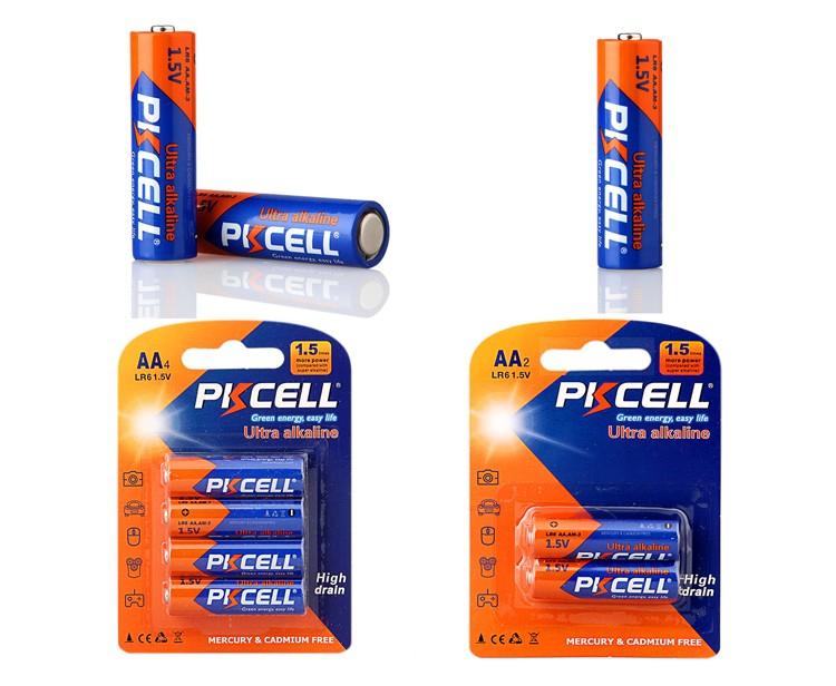 Shenzhen produttore prezzo A Buon Mercato super alcaline 1.5v lr6 aa batteria per il mouse senza fili