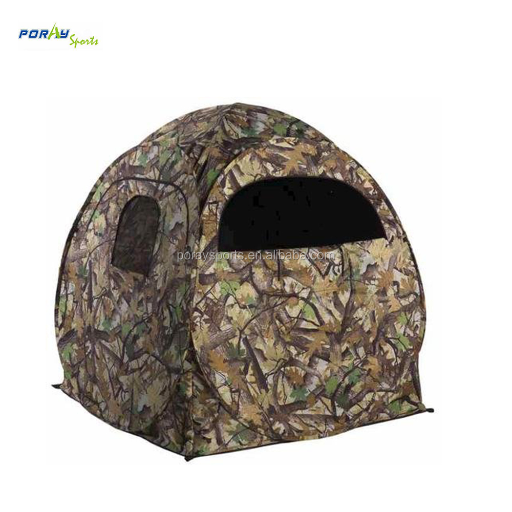 ground up portable weather camo costway hunter hunting walmart blinds ip proof window pop blind deer com mesh