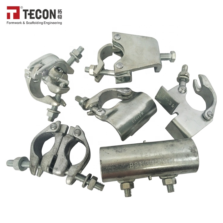 Forged/Pressed Scaffold Clamp With Galvanized Painted