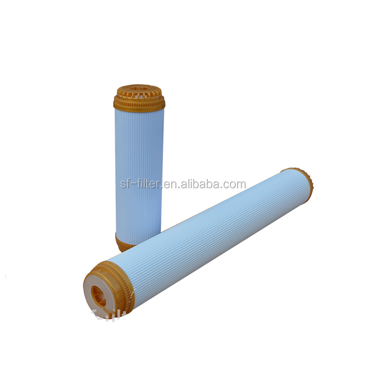 China factory direct active carbon filter cartridge ro water filter parts