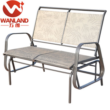 Outdoor Loveseat Glider Bench Rocking Chair,Patio Porch Swing - Buy ...