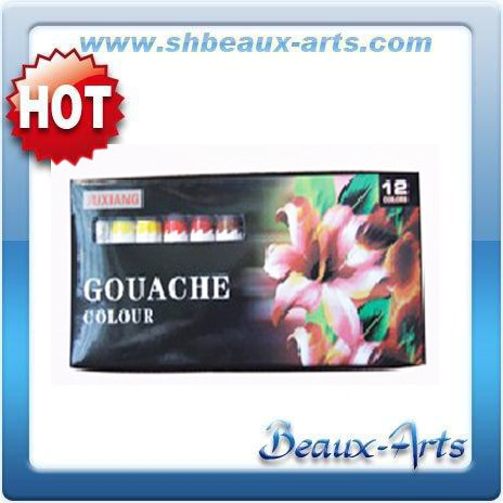 12 Color art and craft abstract painting Gouache paint