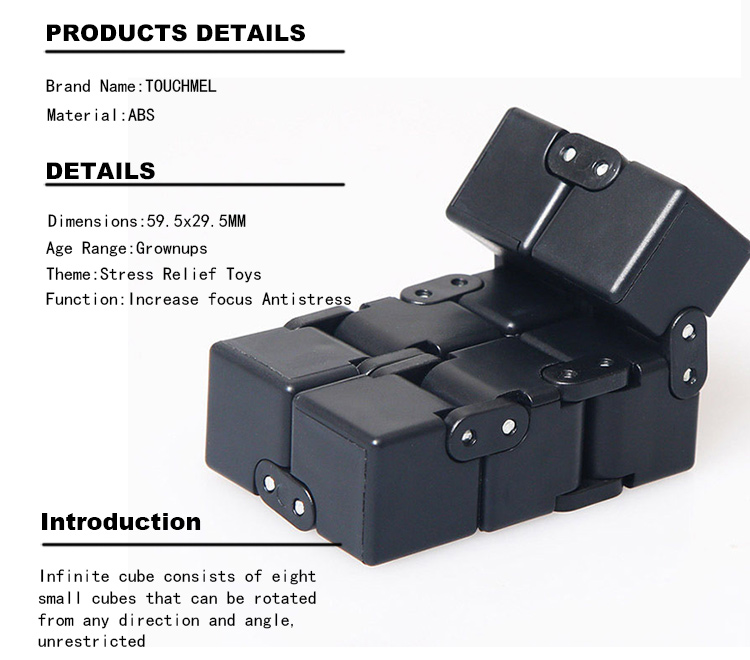 infinity cube. infinity cube fidget cubes original puzzles magic toys infinity cube