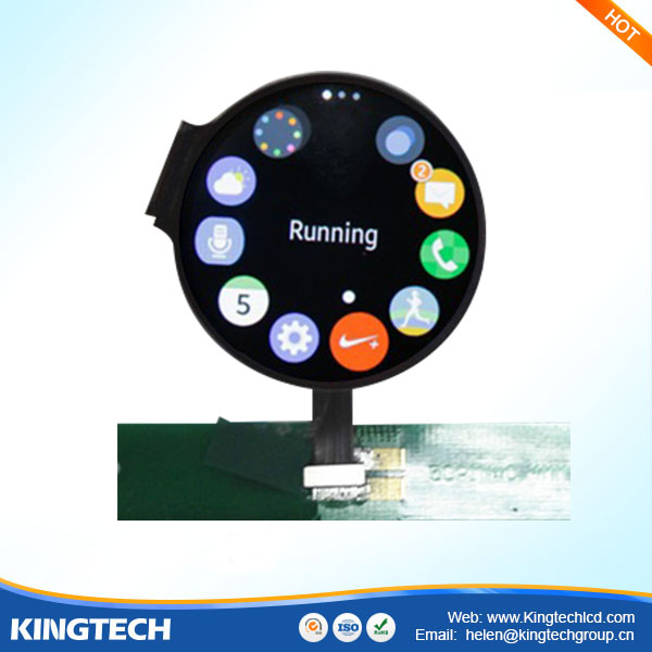 1.39 Inch Round Shaped Epaper Circular Oled Touch Screen Display ...
