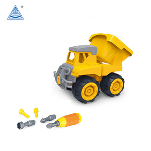 DIY Toy Tool Set Self Assemble Toy Engineering Truck Toy
